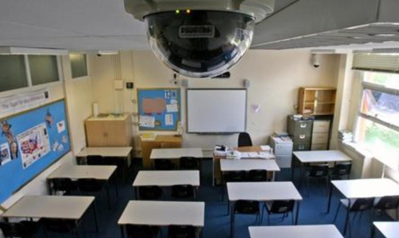 видеонаблюдение в школу