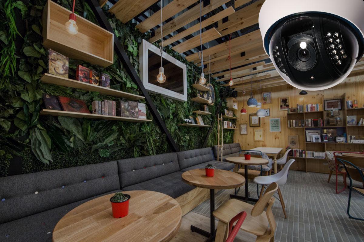 Видеонаблюдение в кафе и ресторан